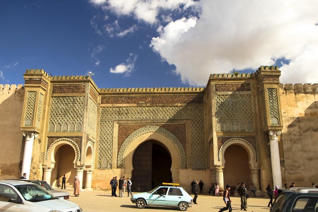 Puerta de Bab El Mansour, Mequinez