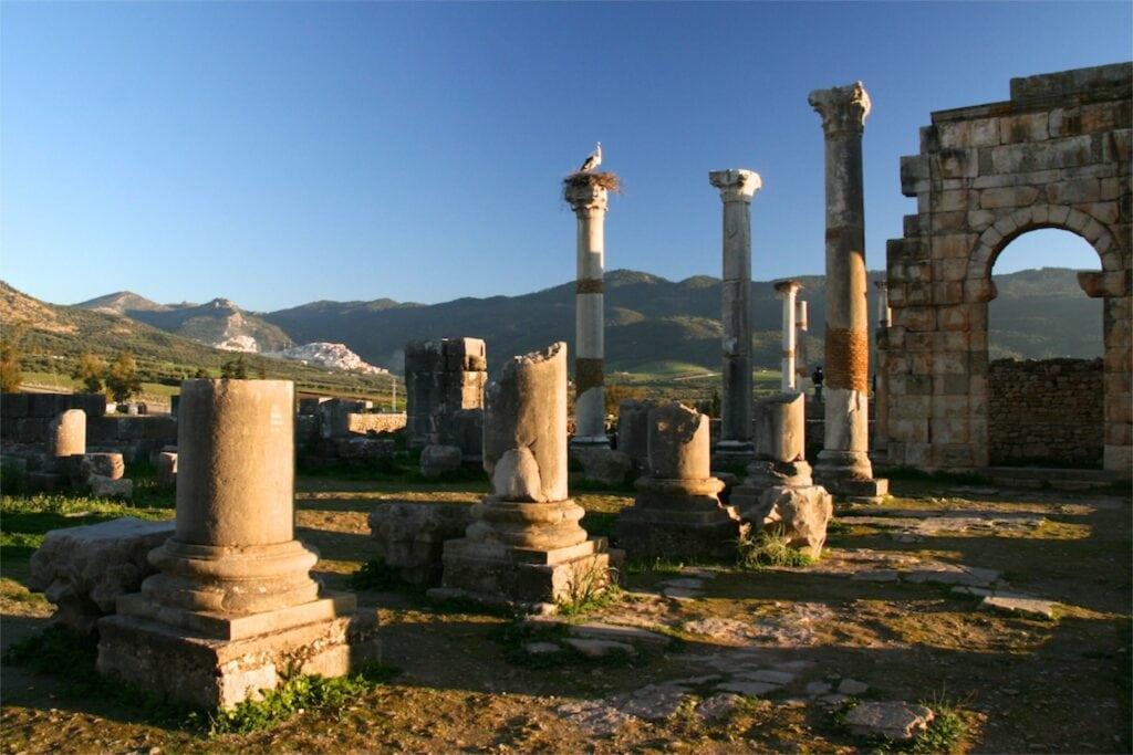 ruinas de Volubilis