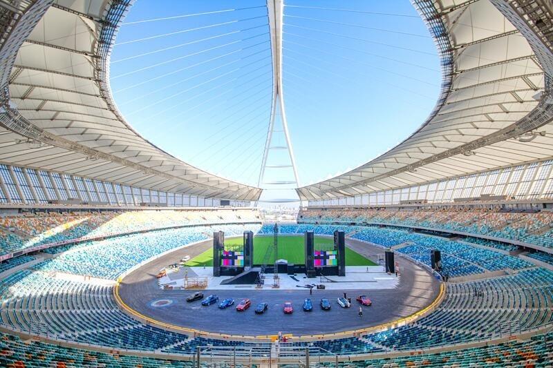 estadio de fútbol de Durban