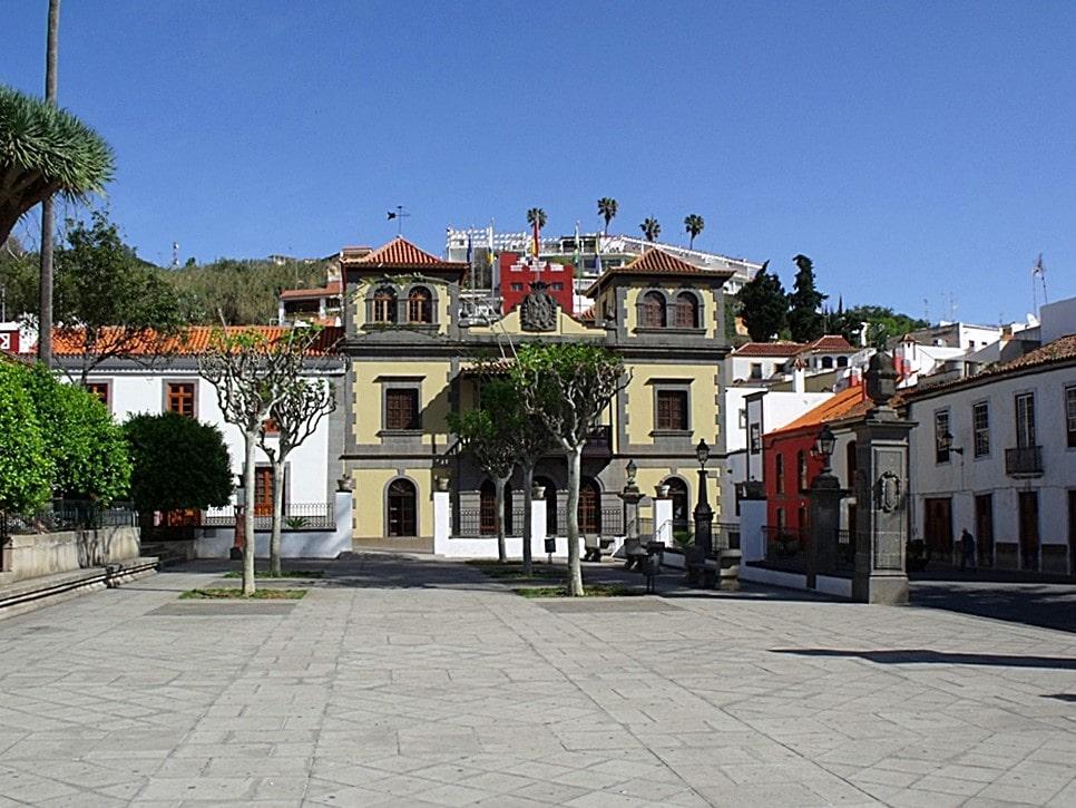 plaza de La Alameda, Teror