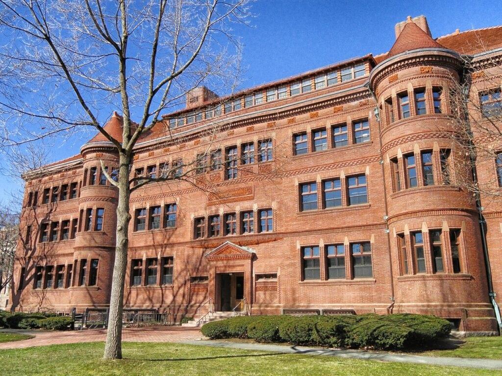 Universidad de Harvard, costa este de Estados Unidos