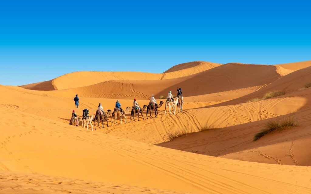 Desierto de Sahara, Marruecos