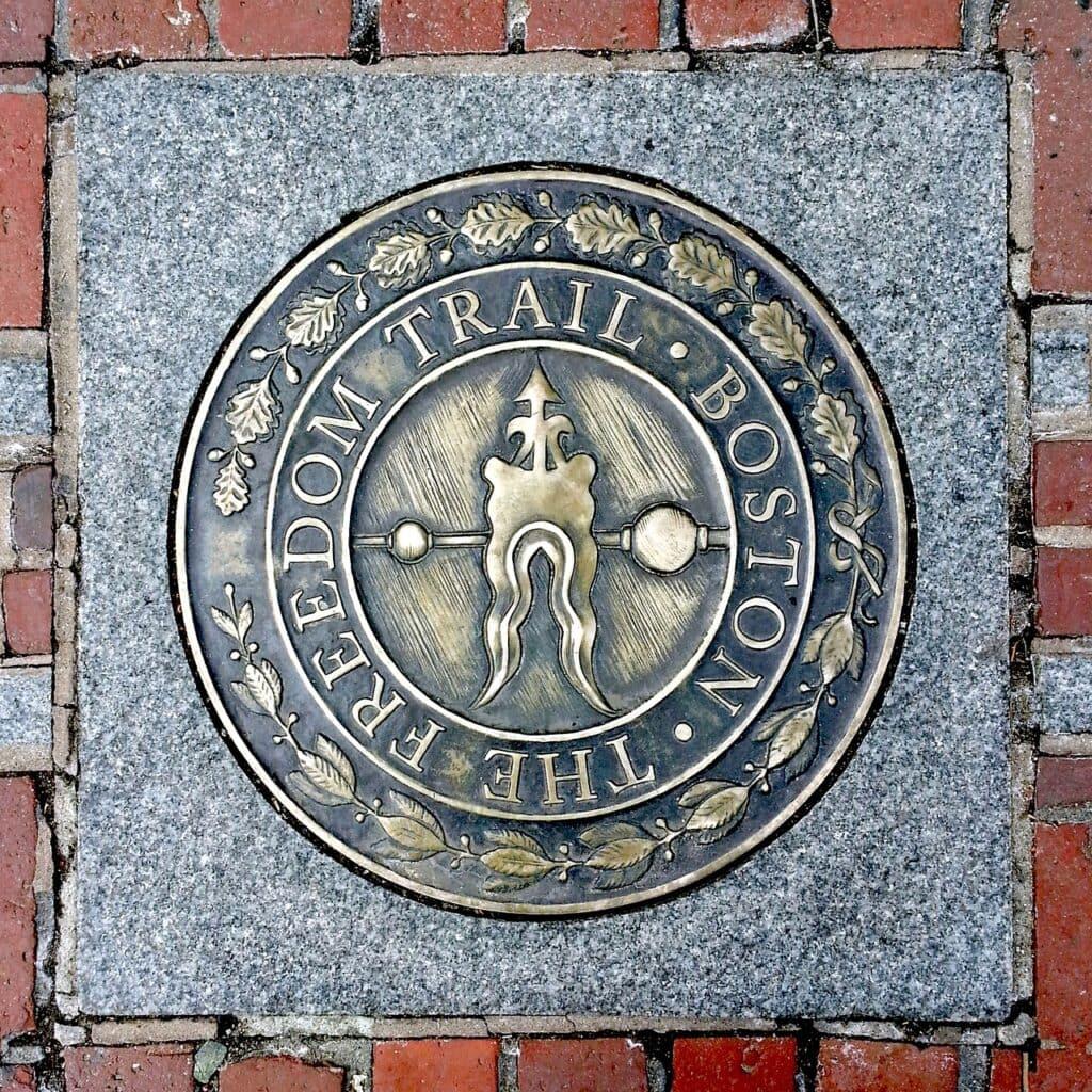 Inicio del Freedom Trail, Boston