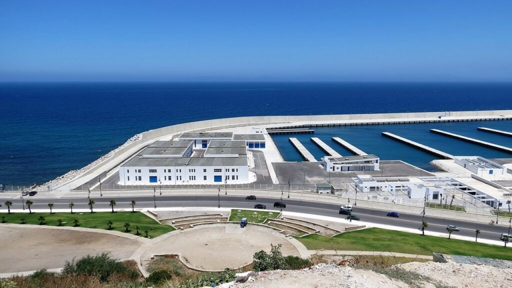 puerto deportivo de Tánger
