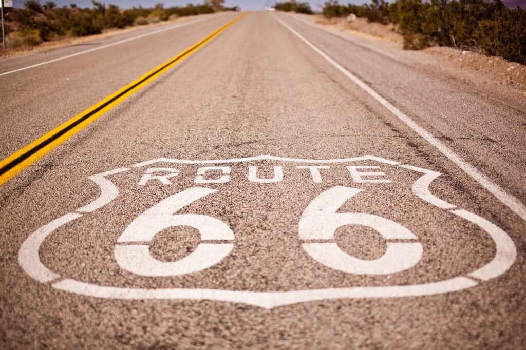costa oeste de estados unidos, ruta 66