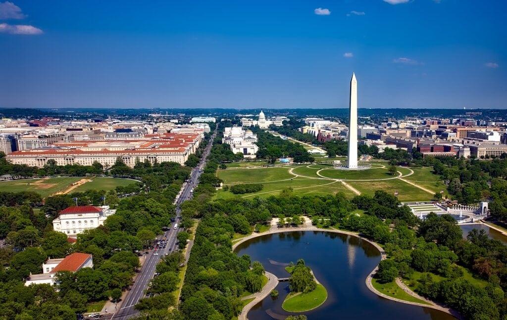 Washington, costa este de Estados Unidos