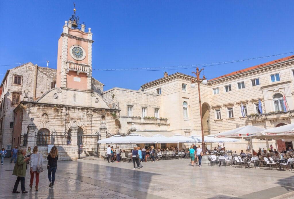 plaza principal de Zadar
