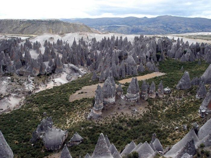 bosques de piedra de Pampachiri, Perú