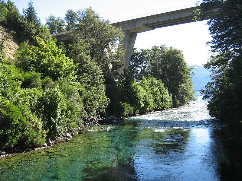 río correntoso, villa la angostura