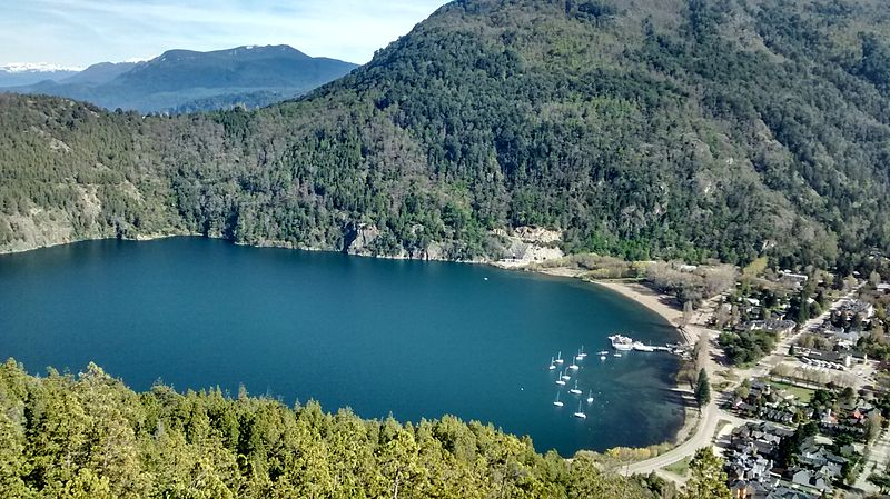 San Martín de los Andes, panorámica desde el Mirador Arrayanes