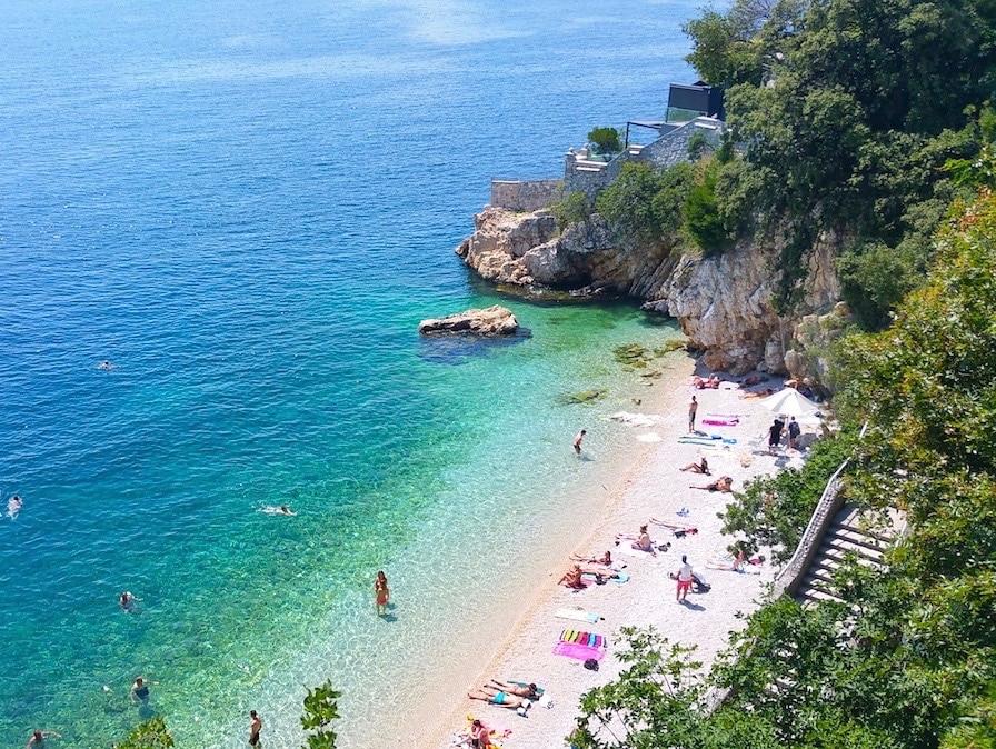 Playa Sablićevo, Rijeka