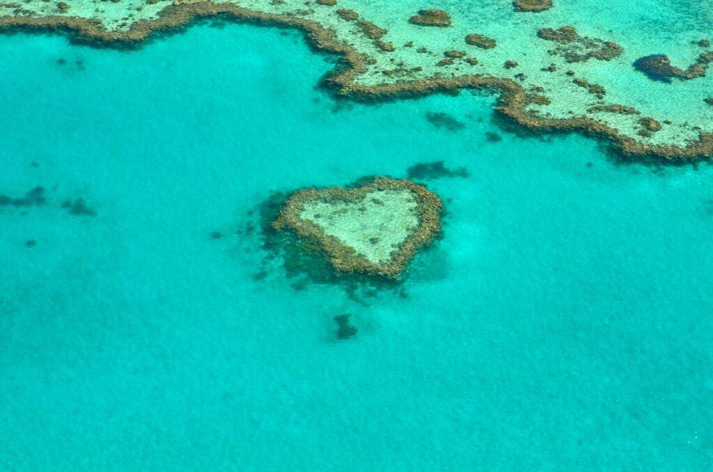 Gran Barrera de Coral vista desde arriba