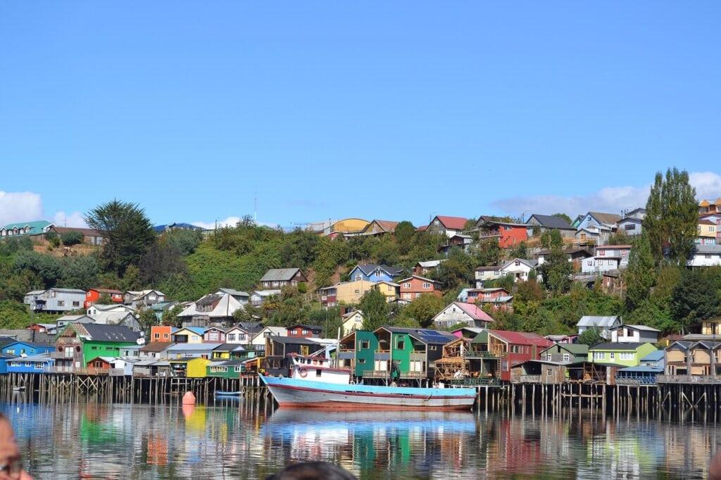 ciudades de la isla Grande de Chiloé