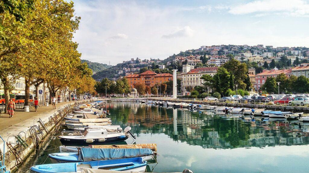 paseo marítimo de Rijeka