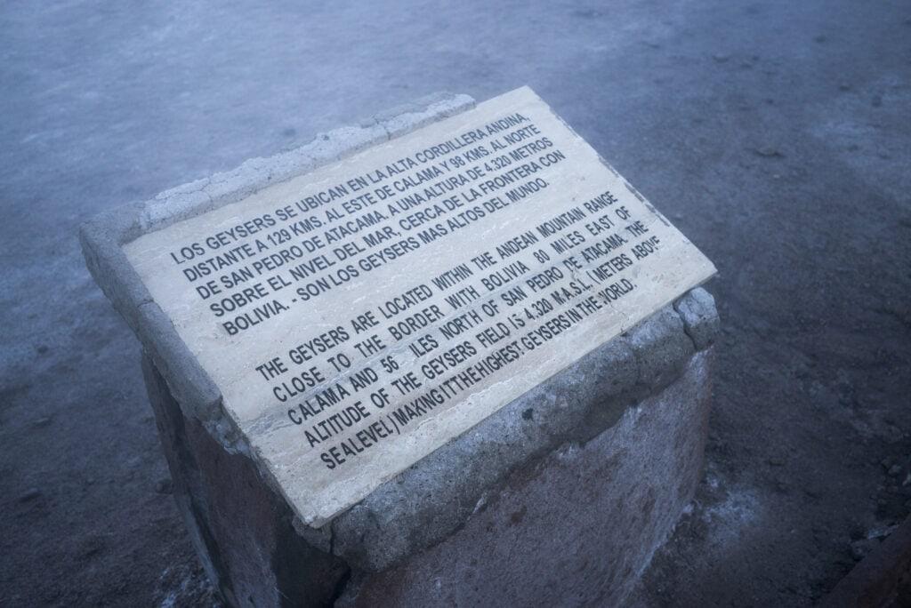 geisers del Tatio, San Pedro de Atacama
