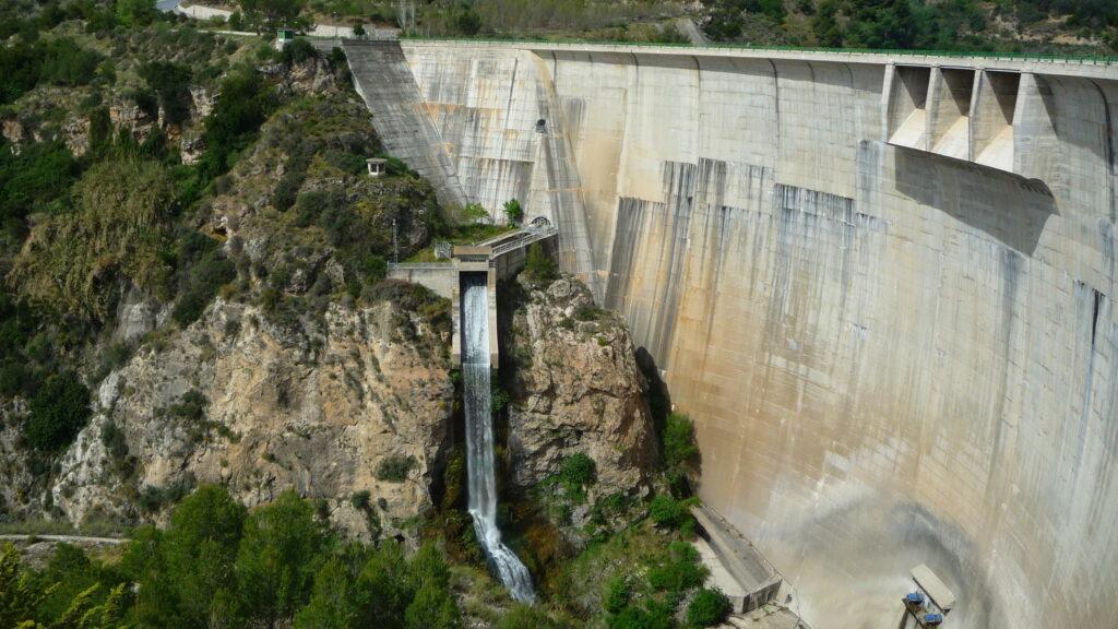 Presa de Béznar, Valle de Lecrín