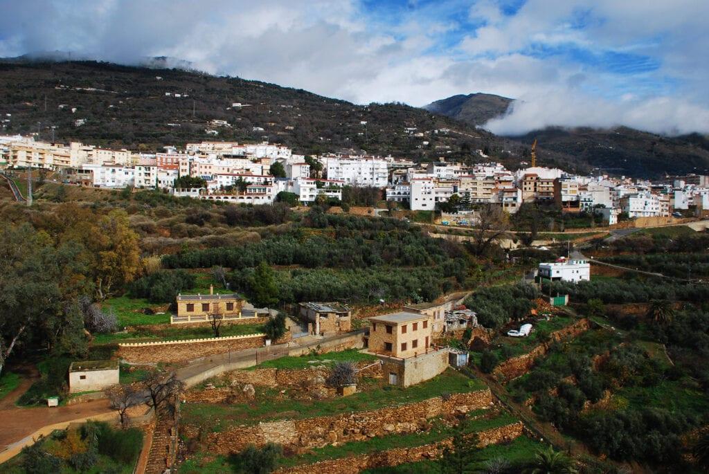Lanjarón, Valle de Lecrín