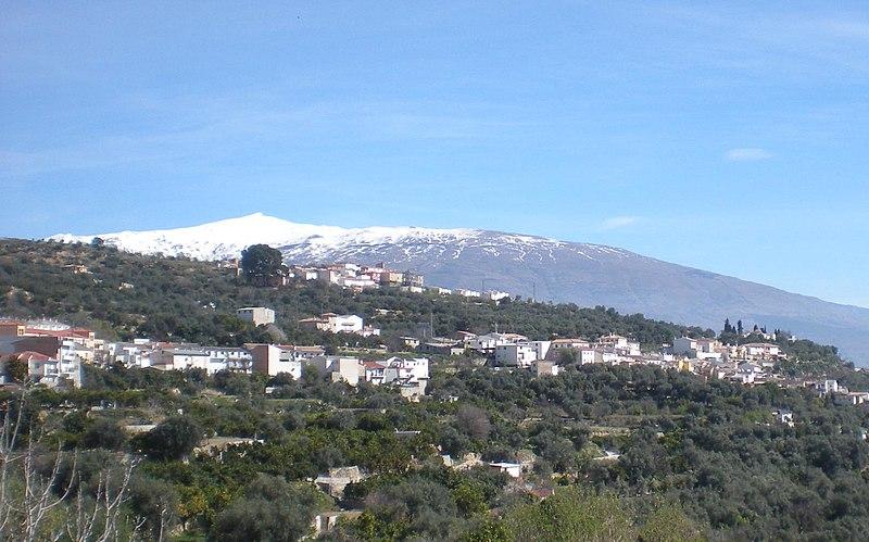 Albuñuelas, Valle de Lecrín