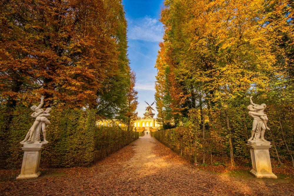 Palacio-Sanssouci